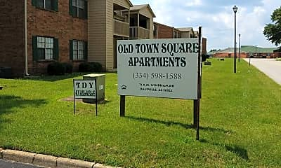 Old Town Apartments, 1
