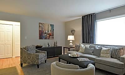 Living Room, Westerlea Apartments, 0