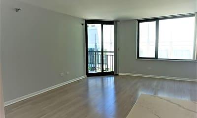 Living Room, 480 N McClurg Ct 718, 1