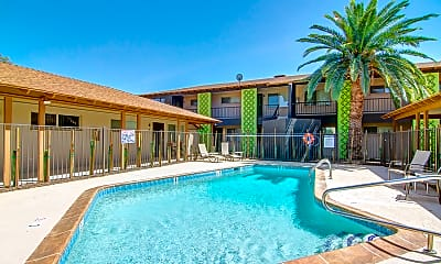 Pool, Hazelwood Apartments, 0