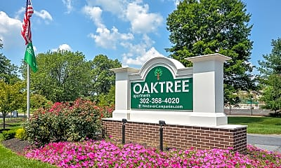 Community Signage, Oaktree Apartments, 0