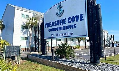 Community Signage, 3600 Thomas Dr, 1