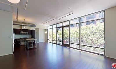 Living Room, 1100 S Hope St 809, 1