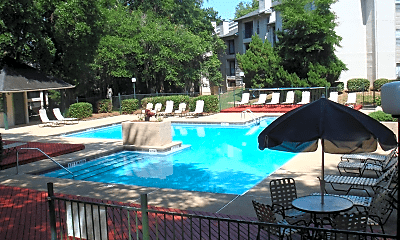 Pool, Live Oaks at Killearn, 1