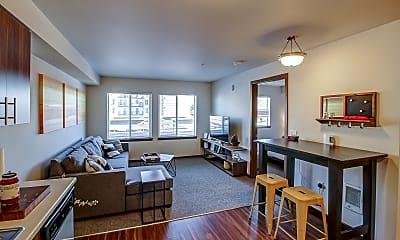 Living Room, Reserve at Auburn (Senior Living Apartment), 1