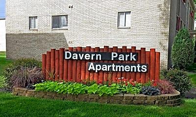 Community Signage, Davern Park Apartments, 2