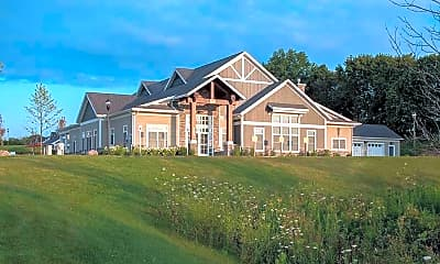 Clubhouse, The Lodge Student Housing, 1