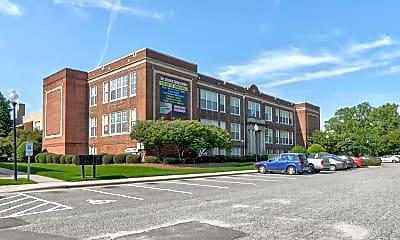 Building, School at Spring Garden, 0