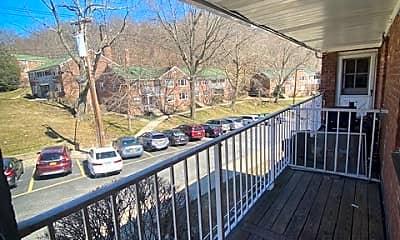 Patio / Deck, 157 White Plains Rd 6B, 1