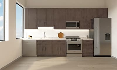 Kitchen, 888 on Main, 1