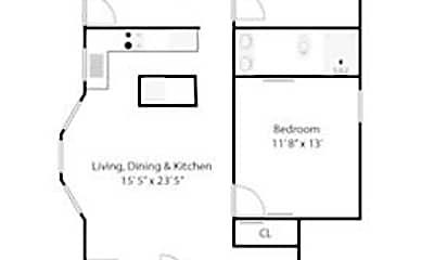 Bedroom, 43 Cypress St, 2