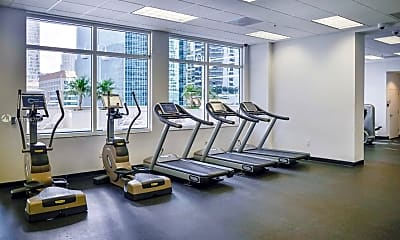 Fitness Weight Room, 1200 Brickell Bay Dr 2110, 2