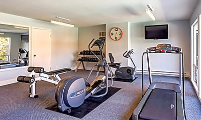 Fitness Weight Room, Beach Park Apartments, 1