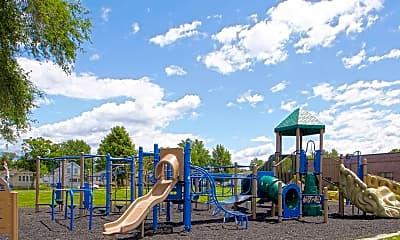 Playground, Roosevelt School Apartments, 2