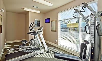 Fitness Weight Room, Race Street Lofts, 2