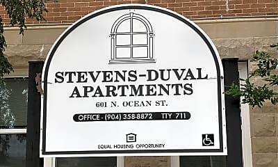 Steven Duval Apartments, 1
