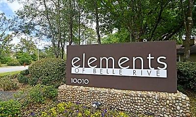 Community Signage, Elements of Belle Rive, 2