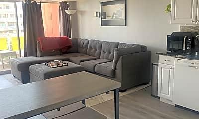 Living Room, 1121 Albion St, 1