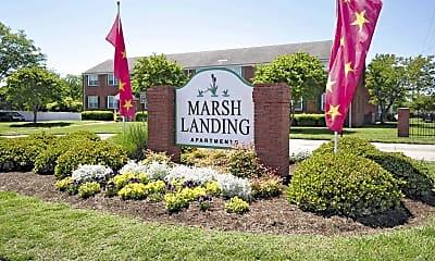 Community Signage, Marsh Landing, 2