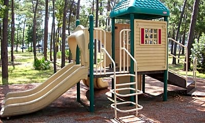 Playground, Commando Village, 2