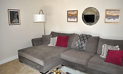 Living Room, 8560 Via Mallorca Unit J, 1