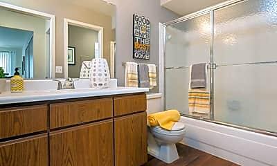 Bathroom, Weathervane Apartments, 2