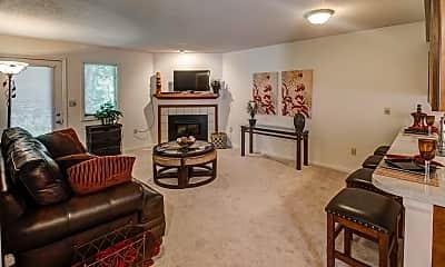 Living Room, Greenhill Apartments, 1