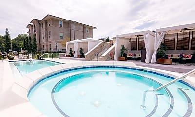 Pool, The Villa at River Pointe Drive, 2