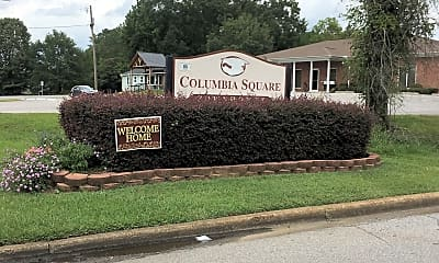 Columbia Square Townehouses, 1