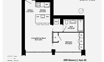 250 Bowery 6-E, 2