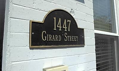 Community Signage, 1447 Girard St NW, 1