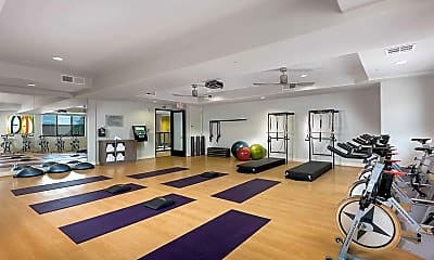 Fitness Weight Room, Liv North Scottsdale, 2
