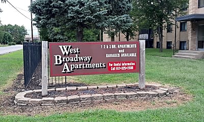 West Broadway Apartments, 1