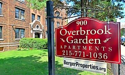 Building, Overbrook Gardens, 2
