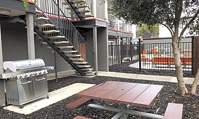 Recreation Area, Solis Garden Apartments, 2