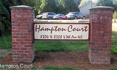 Community Signage, 8304 47th Ave NE, 0