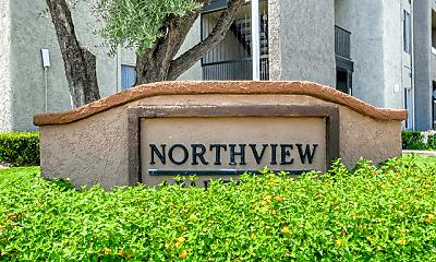 Community Signage, Northview - Southview Apartments, 1