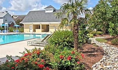 Pool, Courtyards of Chanticleer, 0