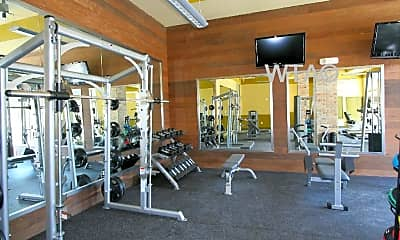 Fitness Weight Room, 810 W St Johns Ave, 1