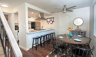 Kitchen, Woodcrest Apartment Homes, 1