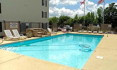 Pool, Eddins Estates, 1