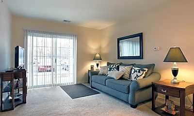 Living Room, Parma Village Senior Apartments, 0