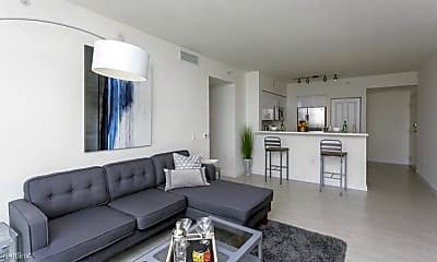 Living Room, 3891 NE 6th Ave, 0