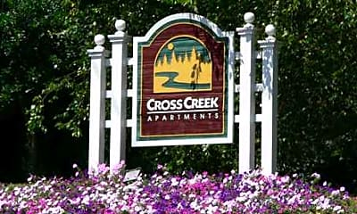 Community Signage, Cross Creek, 2