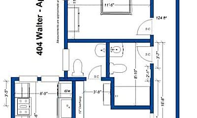 Bedroom, 404 Walter St, 2