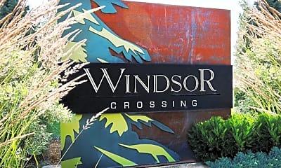 Community Signage, Windsor Crossing, 1