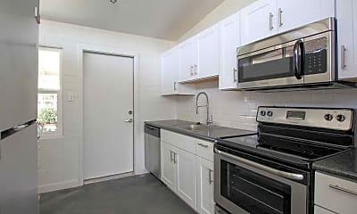 Kitchen, Fairmount Apartments, 1