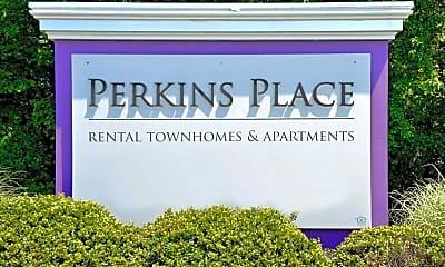 Community Signage, Perkins Place, 2