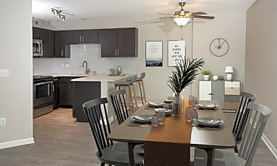Dining Room, Park Place Apartments, 0