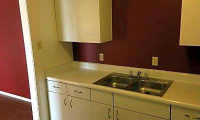 Kitchen, Siesta Lane Apartments, 1